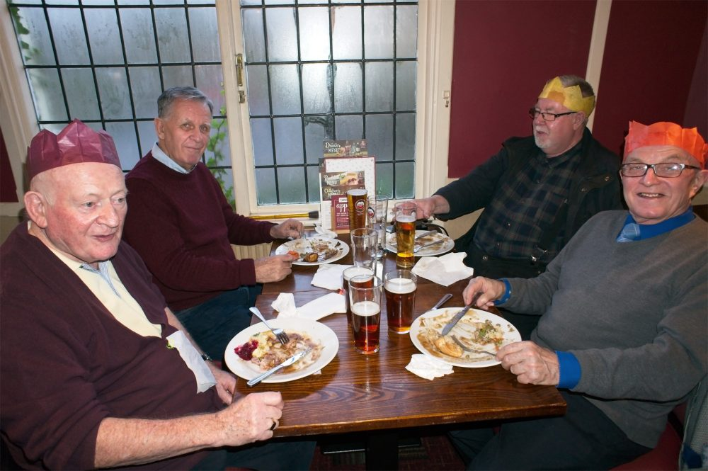 Bow Geezers Xmas Lunch 2017, The Eagle