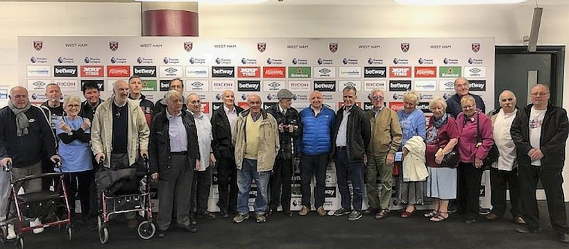 Geezers at Any Old Irons