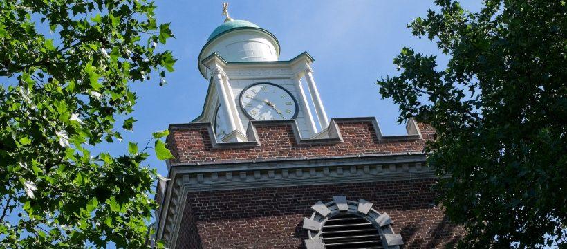Bow Church Tower restored summer 2008
