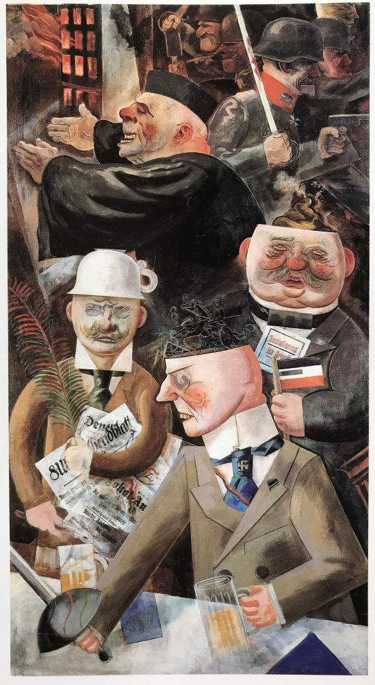 painting by George Grosz