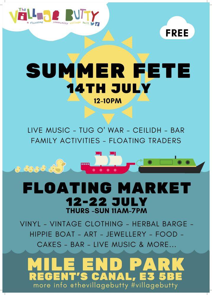 Summer Fete - the Village Butty - Mile End Park