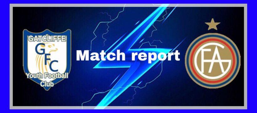 Gatcliffe match report logo
