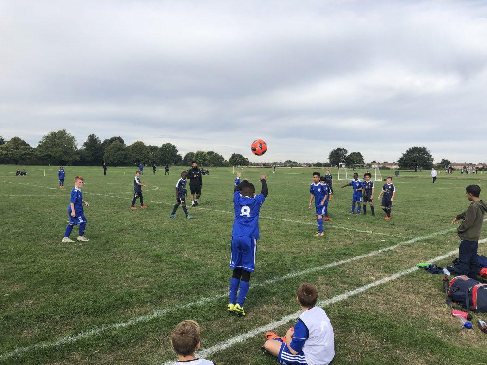 Gatcliffe Youth Football Club White vs GFA Loughton Yellow