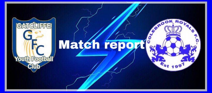 Gatcliffe v Colebrook Royals match report