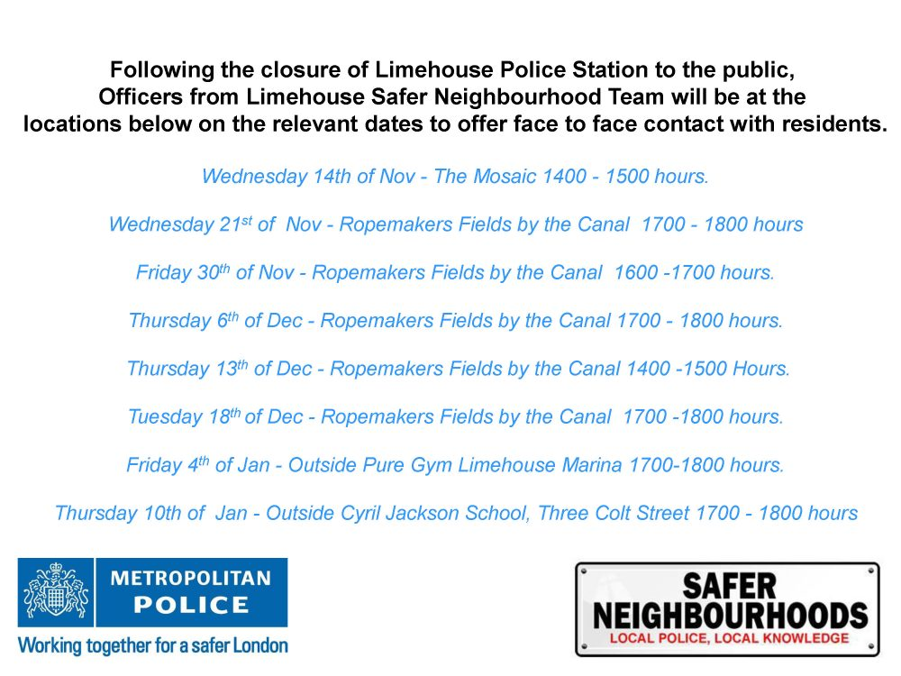Limehouse Police
