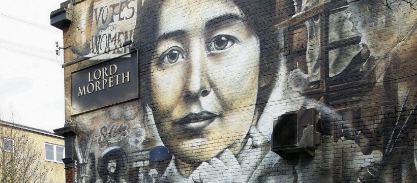 Syvia Pankhurst mural