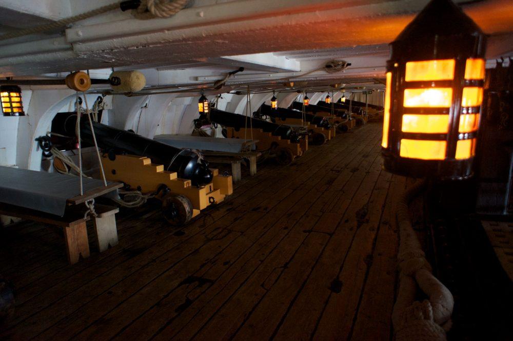 Gun Deck HMS Victory