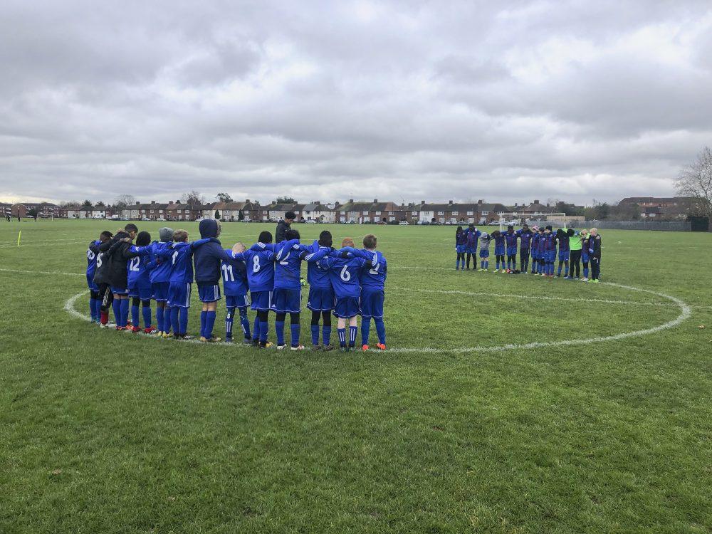Gatcliffe youth Whites vs Dagenham Utd Blues