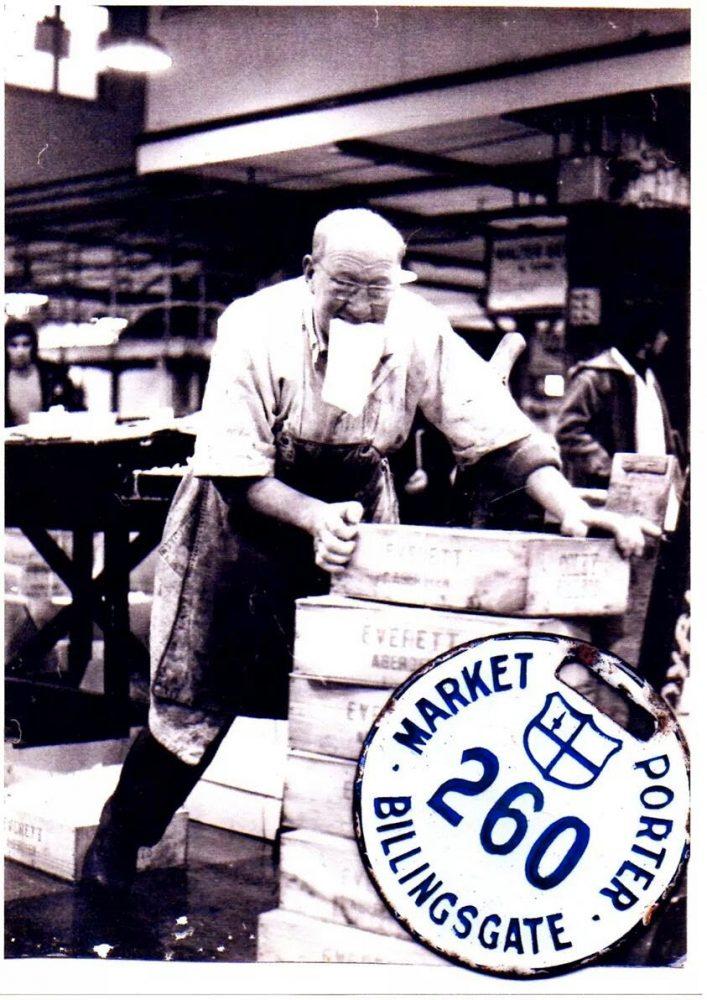 Hard Working Porter, taken by Terry Bloomfield