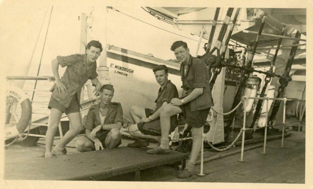 Terry Bloomfield on The Windrush 30 Jan 1954