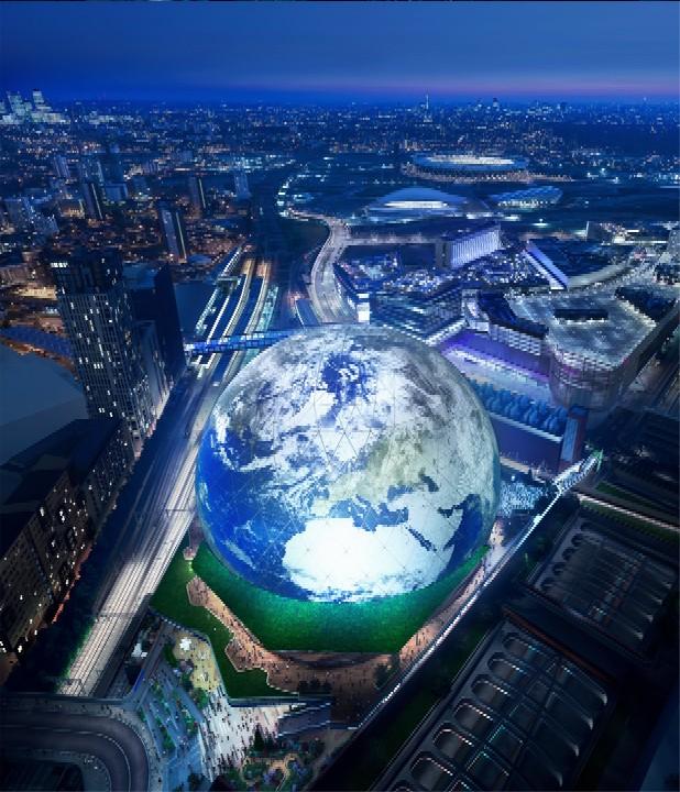 Proposed MSG Sphere Stratford