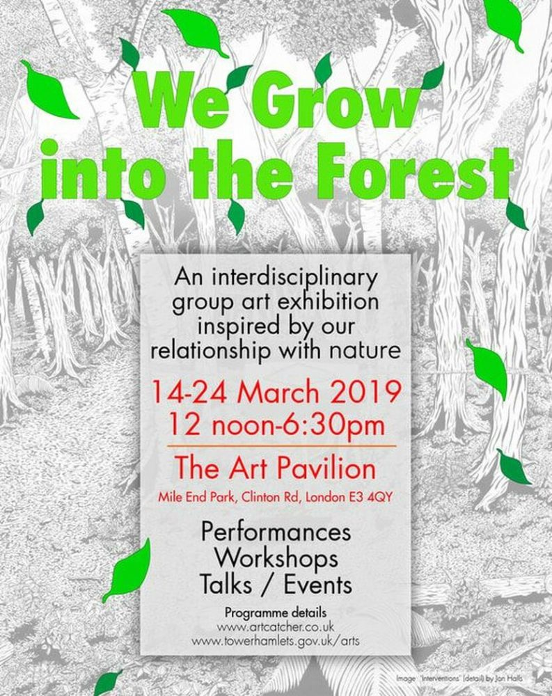 We grow into the forest poster