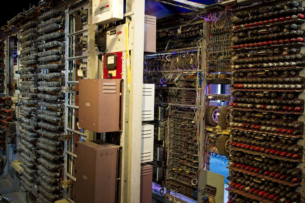Working rebuild of the Colossus in national Museum of Computing