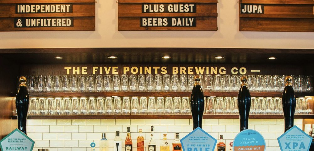 The Five Points Brewery have recently taken over and refurbished The Pembury Tavern