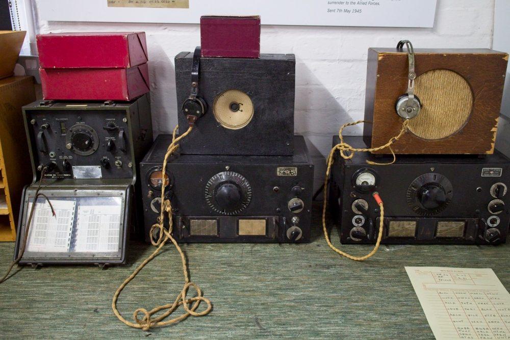 """A """"Y"""" station setup. Y stood for Wireless Interception."""