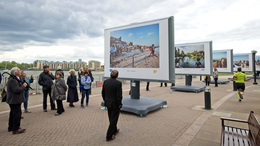 Canary Riverside - Streets of the World - outdoor exhibition