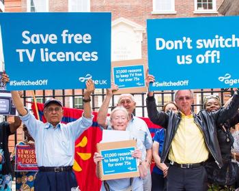 Age UK Save free TV Licences