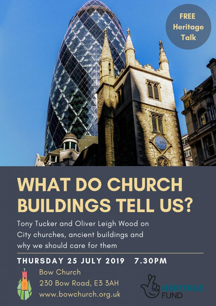 Bow Church talk poster