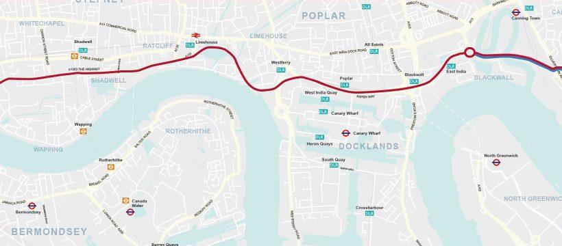 London Triathlon Route 2019