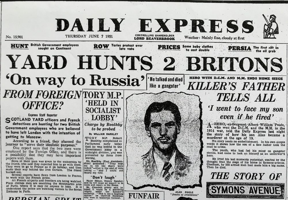 Daily Express 7th June 1951