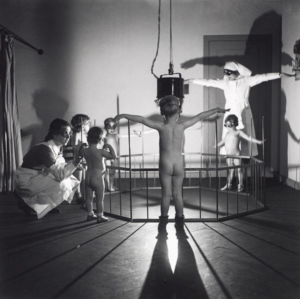 Ultraviolet light treatment south London hospital by Edith Tudor-Hart