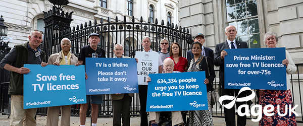 Age Concern TV Licence Campaign