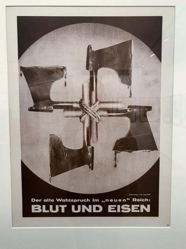 Blood and Iron montage by John Heartfield