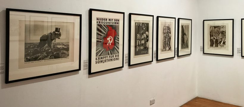 The John Heartfield exhibition at Four Corners, Bethnal Green