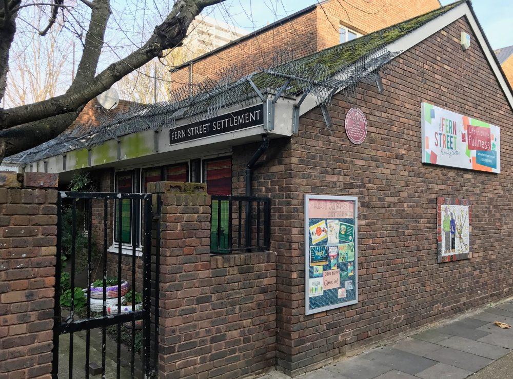 Fern Street Settlement London Dec 2019