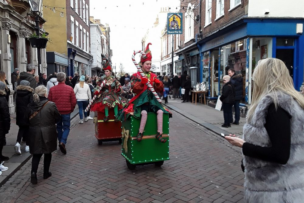 Geezers trip to Dickens Festival at Rochester Sat 7th Dec 2019.