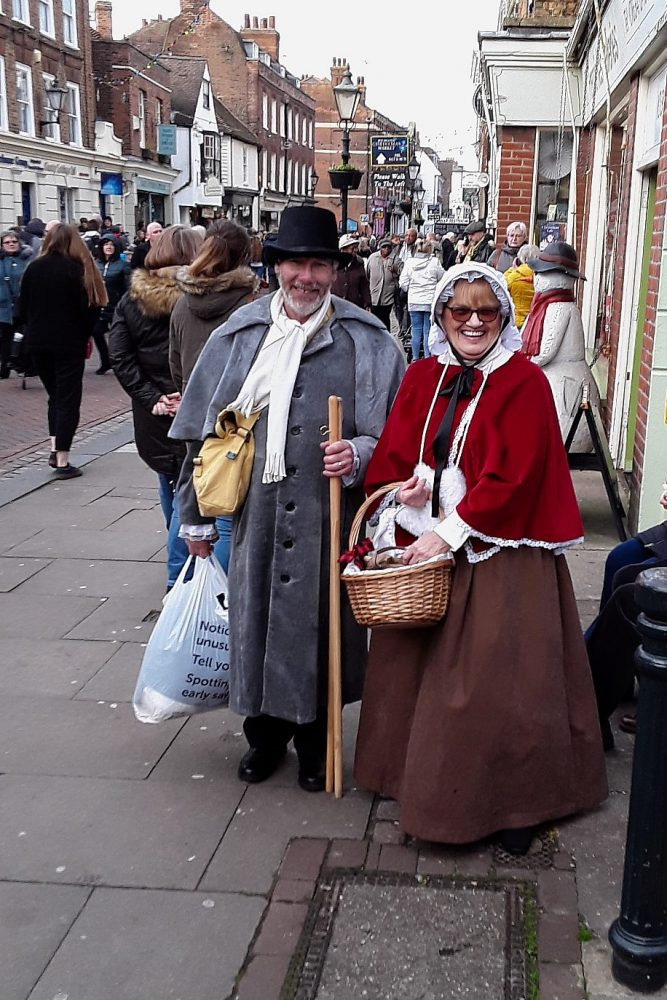 Geezers trip to Dickens Festival at Rochester Sat 7th Dec 2019