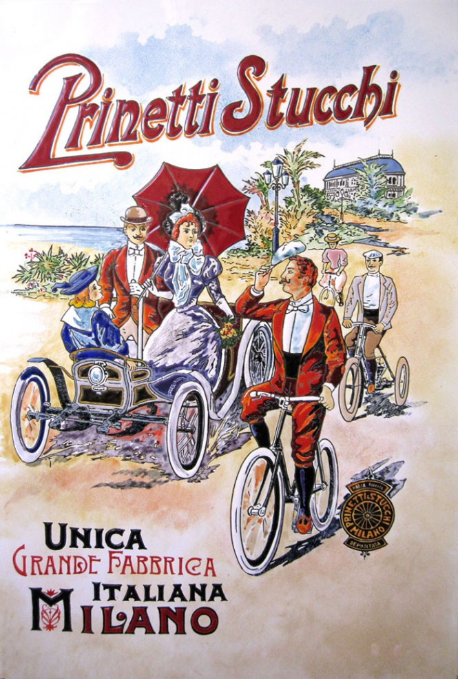 Poster for Prinetti Stucchi cycles