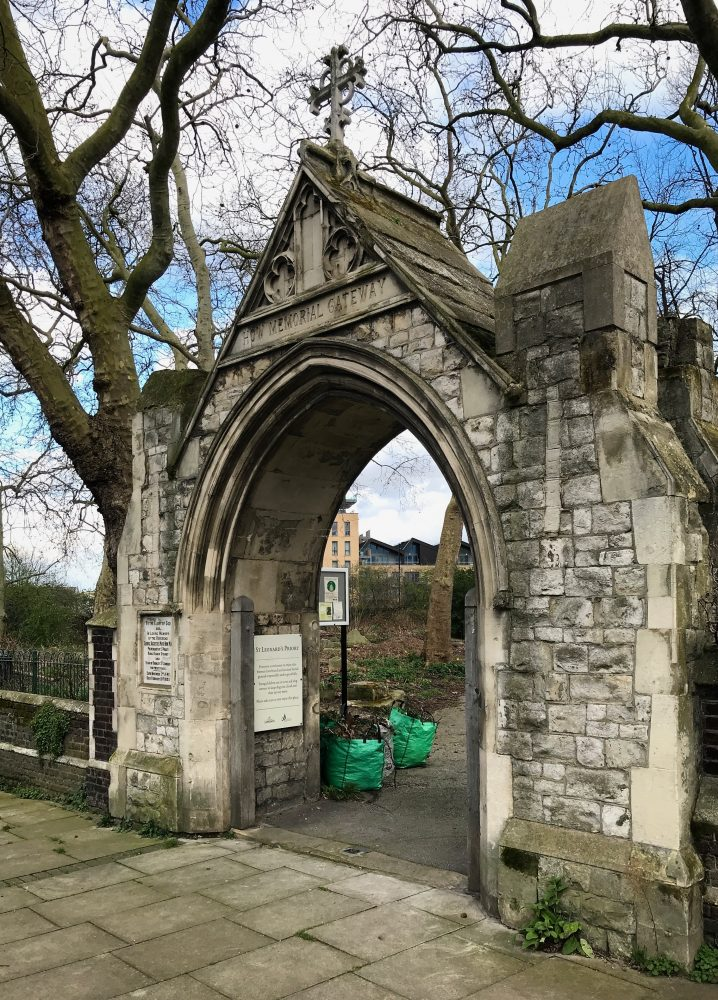 St Leonard's Cemetery Gateway, Bromley by Bow