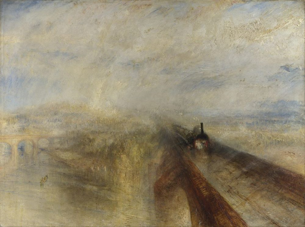 Turner - Rain, Steam and Speed - National Gallery, London