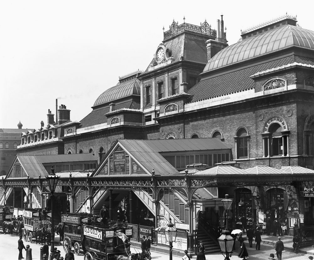 Broad Street Station 1898. Image courtesy Science Museum Group.
