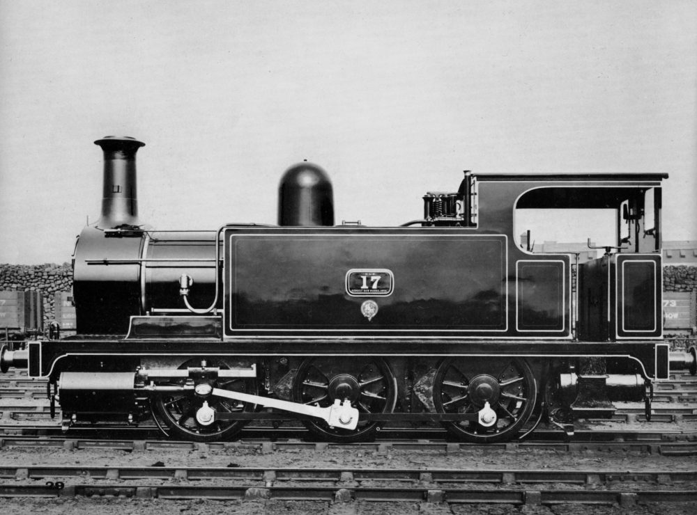 A small but powerful freight engine built at Bow in 1889. It was rebuilt in 1906, just before this photo was taken, and survived 43 years in service. Image courtesy Science Museum Group.