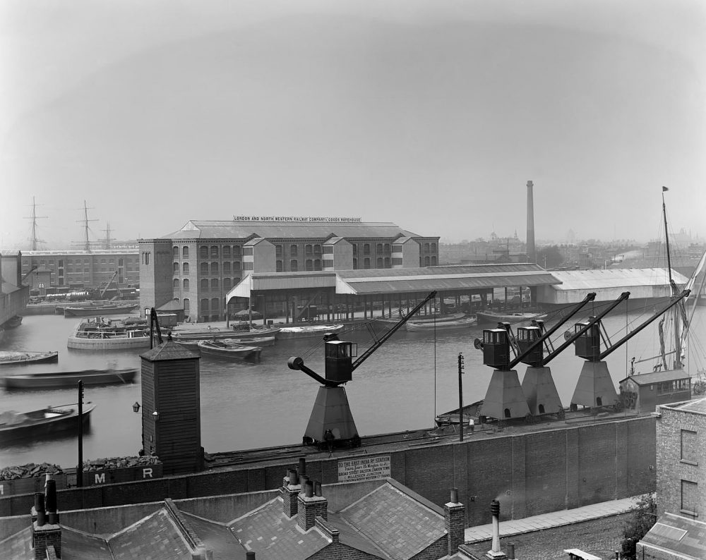 Poplar Dock in 1898