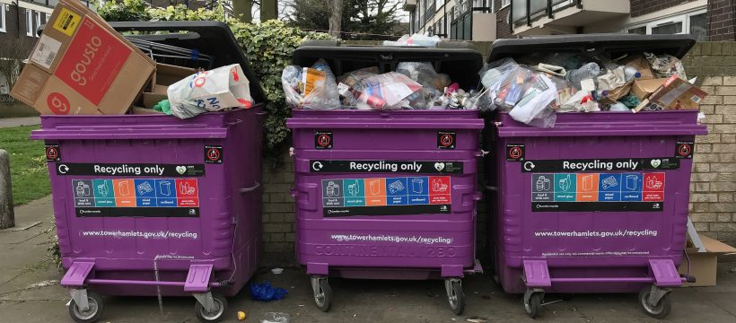 Tower Hamlets bin strike