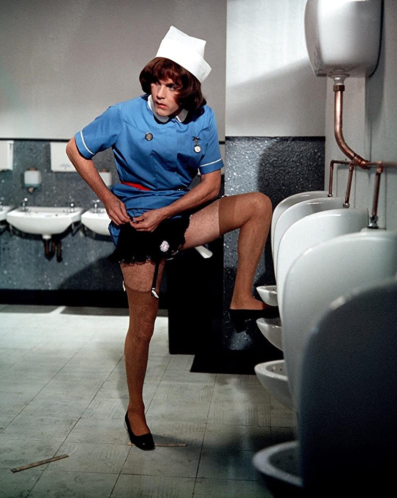Film still from Carry on Matron