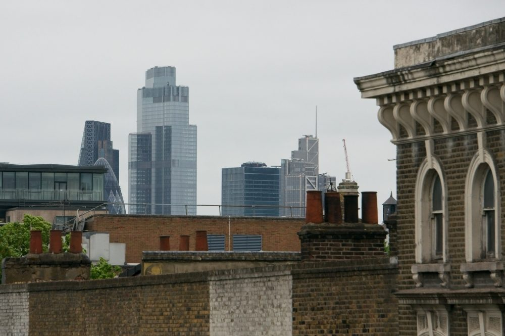 City Skyscrapers viewed from Bow