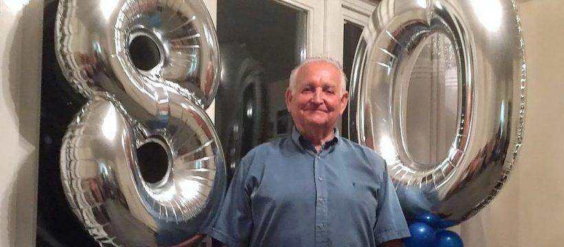 Don Tomlin at 80