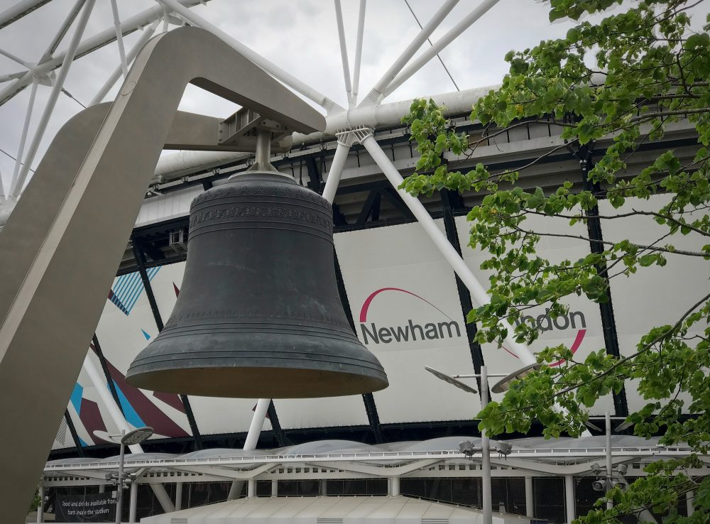The Olympic Bell was commissioned and cast for the 2012 London Olympic Game