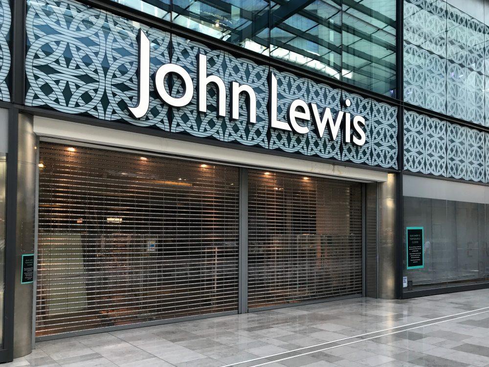 John Lewis still closed 23rd June 2020