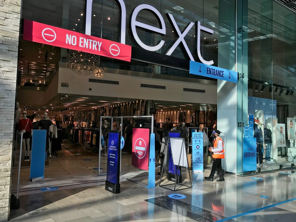 Westfield no queue at Next 23rd June 2020 at 5pm. It's open until 7pm