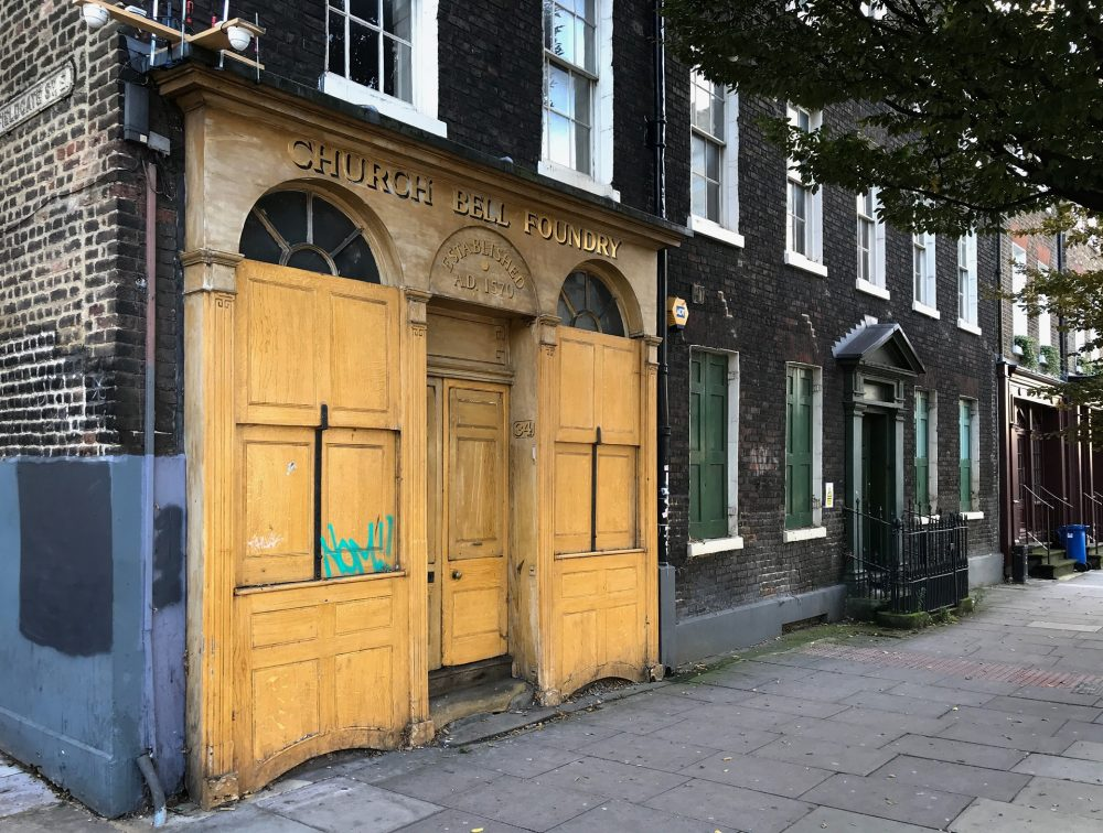 Whitechapel Bell Foundry shopfront