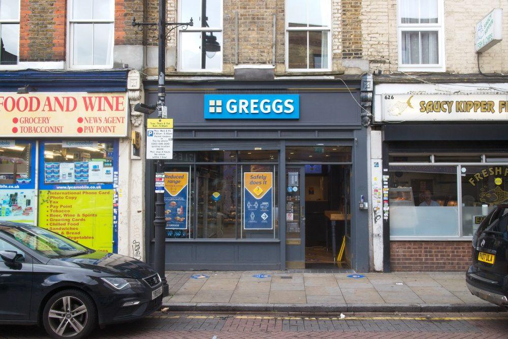Greggs finally re-opened