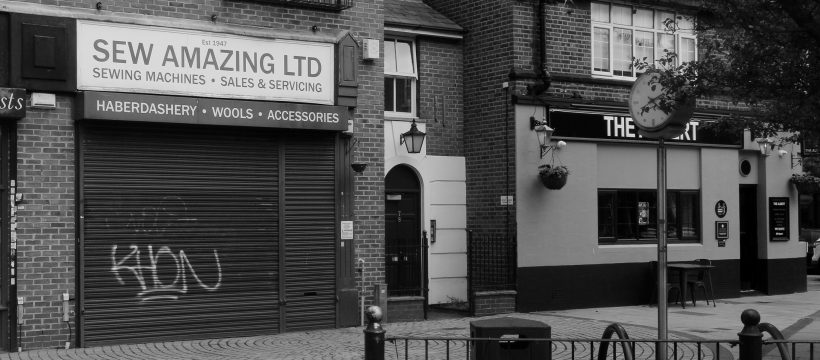 Sew amazing, established 1947. Still closed.