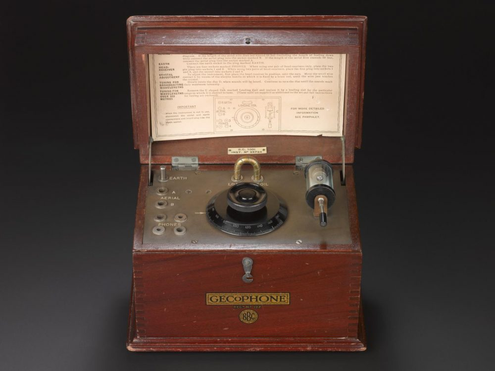 1923 Radio set courtesy Science Museum Collection