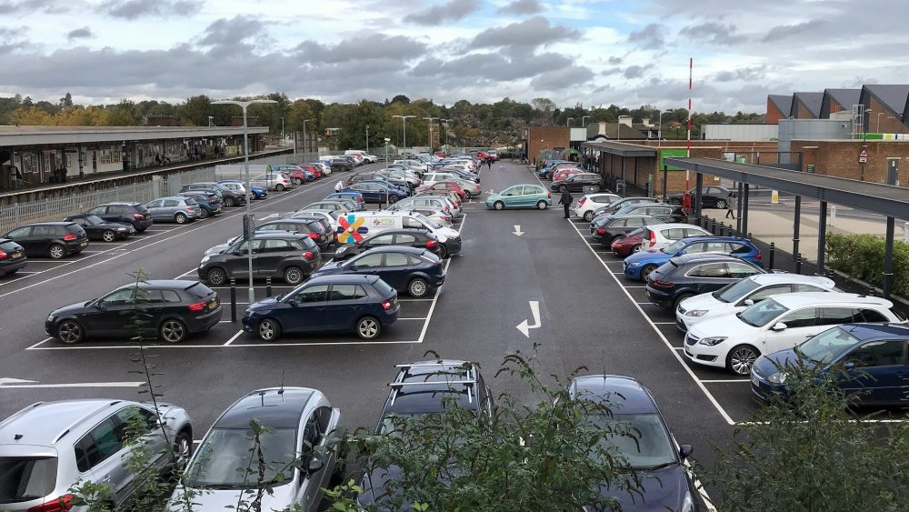 Waitrose Car park Haywards Heath