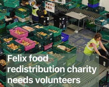 Felix Food redistribution charity needs volunteers in Bow